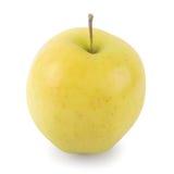 Gouden - heerlijke Appel (w/path) Stock Afbeelding