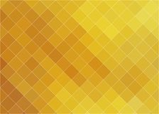 Gouden hete mozaïekachtergrond vector illustratie