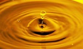 Gouden Honey Drop Stock Foto