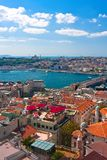 Gouden Hoorn in Istanboel royalty-vrije stock afbeelding