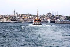 Gouden-hoorn - Istanboel Stock Fotografie