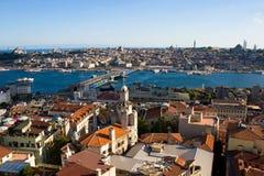 Gouden Hoorn in Istanboel stock fotografie