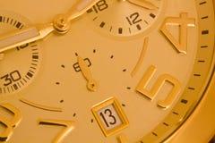 Gouden Horloge royalty-vrije stock fotografie