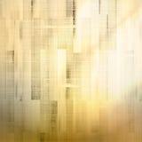 Gouden houten achtergrond en licht plus EPS10 Stock Foto