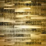 Gouden houten achtergrond en licht plus EPS10 Royalty-vrije Stock Foto