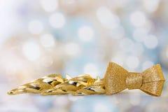 Gouden ijskegels Stock Foto