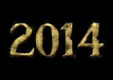 Gouden jaar Royalty-vrije Stock Afbeeldingen