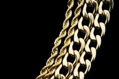 Gouden Juwelen Royalty-vrije Stock Afbeelding