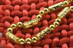 Gouden juwelen Royalty-vrije Stock Foto