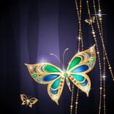 De achtergrond van juwelen Stock Foto's
