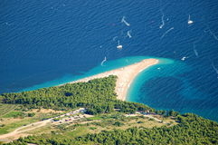 Gouden Kaap, Kroatië Royalty-vrije Stock Afbeeldingen