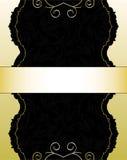 Gouden Kaart Royalty-vrije Stock Afbeeldingen