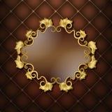 Gouden kader Stock Afbeeldingen