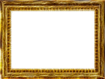 Gouden kader royalty-vrije illustratie