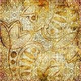 Gouden kant vector illustratie