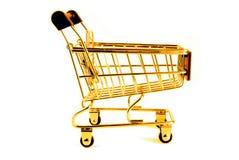 Gouden karretje Stock Foto
