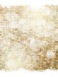 Gouden Kerstmisbackground Eps 10 Royalty-vrije Stock Afbeeldingen
