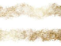 Gouden Kerstmisbackground Eps 10 Royalty-vrije Stock Afbeelding
