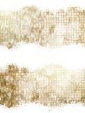 Gouden Kerstmisbackground Eps 10 Stock Foto