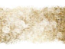 Gouden Kerstmisbackground Eps 10 Stock Afbeeldingen