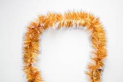 Gouden Kerstmisklatergoud Royalty-vrije Stock Fotografie