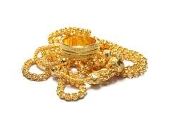 Gouden ketting Royalty-vrije Stock Fotografie