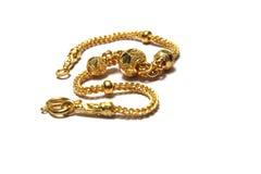 Gouden ketting Royalty-vrije Stock Foto's
