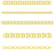 Gouden Ketting vector illustratie