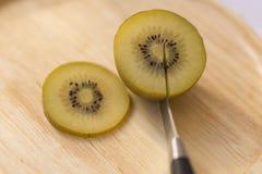 Gouden Kiwi, Fruit voor healty of dieetmensen Royalty-vrije Stock Foto's