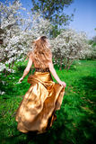 Gouden kleding Stock Foto