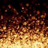 Gouden abstracte lichte achtergrond