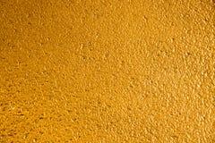 Gouden kleurenvloer voor textuur en achtergrond Royalty-vrije Stock Foto