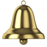 Gouden klok stock illustratie