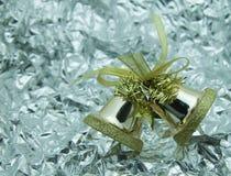 Gouden klokken. Royalty-vrije Stock Afbeeldingen
