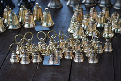 Gouden klokken Royalty-vrije Stock Foto