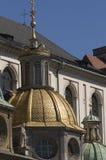 Gouden koepel 5 van Wawel Royalty-vrije Stock Afbeeldingen
