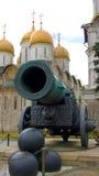 Gouden Koepels van het Kremlin in Rusland Royalty-vrije Stock Foto's