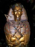 Gouden Koning Tut Sarcophagus Stock Foto's