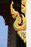 Gouden koning van naga Royalty-vrije Stock Afbeelding