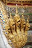 Gouden Koning van Nagas Royalty-vrije Stock Afbeelding