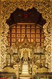 Gouden Koninklijk Paviljoen Stock Foto's
