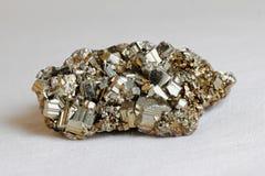 Gouden kristal Stock Foto