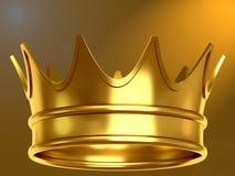 Gouden kroon Stock Afbeelding