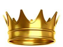 Gouden kroon Stock Afbeeldingen