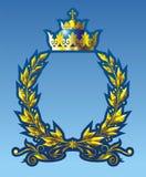 Gouden kroon royalty-vrije illustratie