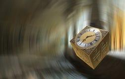 Gouden kubus royalty-vrije stock fotografie