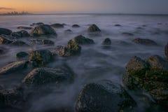Gouden kust Stock Afbeelding