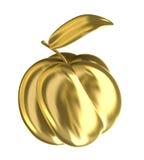 Gouden kweepeerappel. Stock Afbeelding