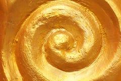 Gouden laagtextuur Stock Afbeelding