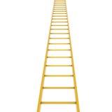 Gouden ladder vector illustratie